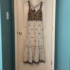 Long Bohemian Gown from Anthropologie
